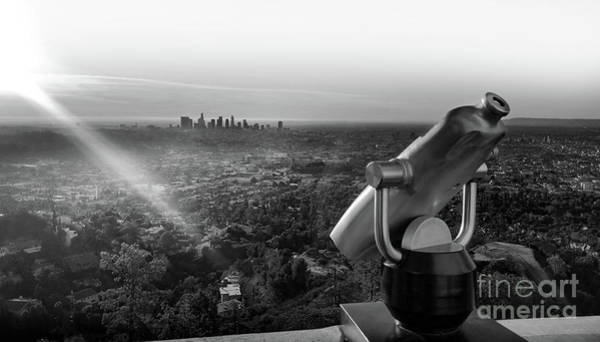 Photograph - Los Angeles Panorama by Gregory Dyer