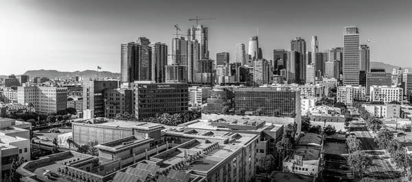 Photograph - Los Angeles Skyline 7.4.18 by Gene Parks