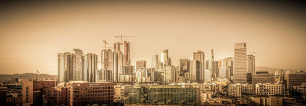 Photograph - Los Angeles Skyline 7.5.18 by Gene Parks