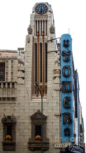 Photograph - Los Angeles Tower Theater by Gregory Dyer