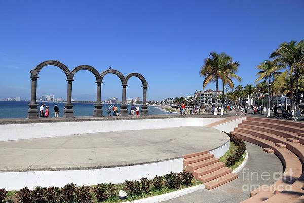 Photograph - Los Arcos Amphitheater by Teresa Zieba