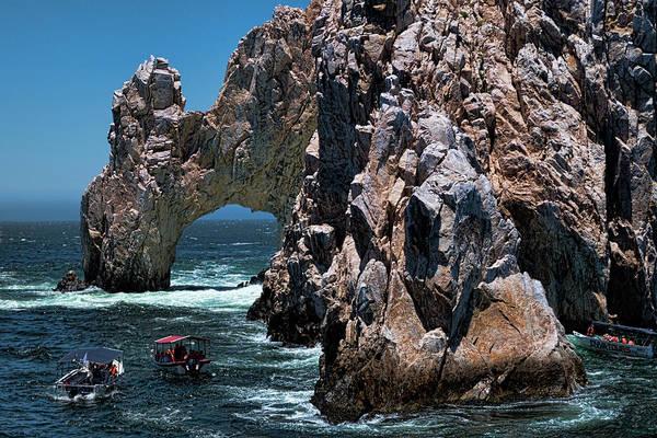 Cabo San Lucas Arch Wall Art - Photograph - Los Arcos In Baja California Mexico by David Smith