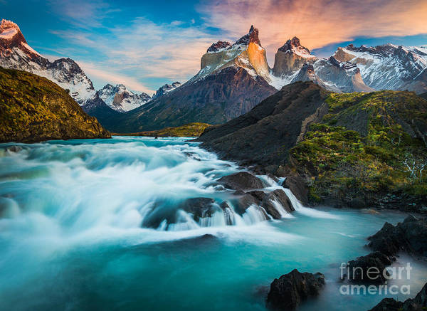 Patagonia Photograph - Los Cuernos Fairyland by Inge Johnsson