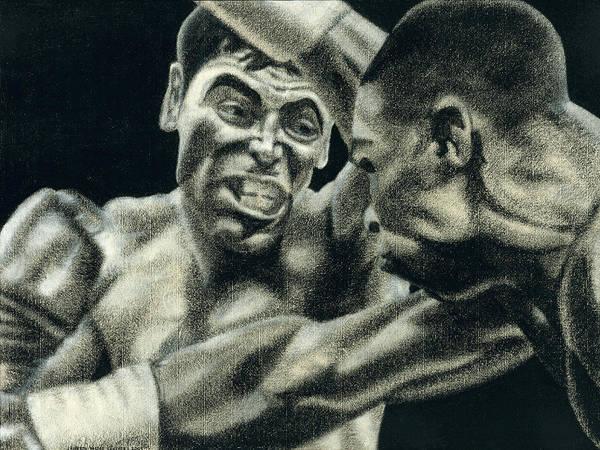 Gold Medal Drawing - Los Guerreros by Roberto Valdes Sanchez