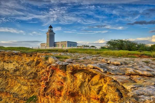 Los Morillos Lighthouse - Los Morillos - Cabo Rojo - Puerto Rico Art Print