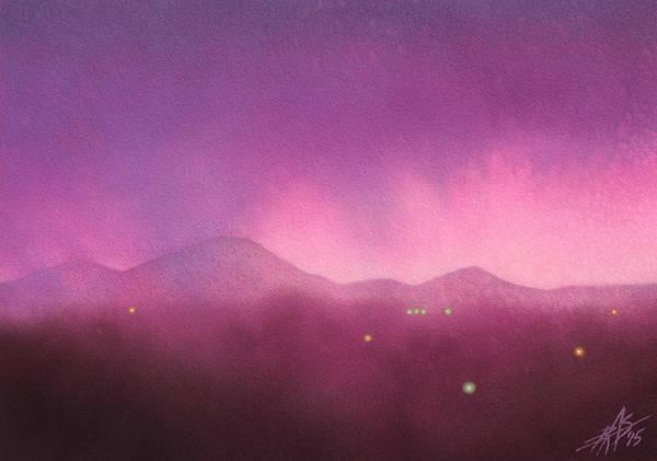 Los Penasquitos Canyon With Black Mountain IIi Art Print by Robin Street-Morris