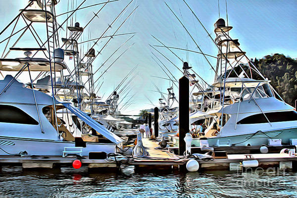 Wall Art - Photograph - Los Suenos Dock by Carey Chen