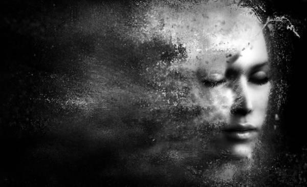 Depression Photograph - Losing Myself by Jacky Gerritsen