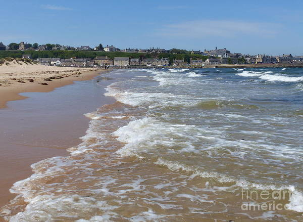 Photograph - Lossiemouth From The East Beach by Phil Banks