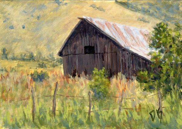 Painting - Lost Barn by David King