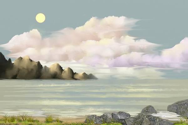 Digital Art - Lost Beach by Tony Rodriguez