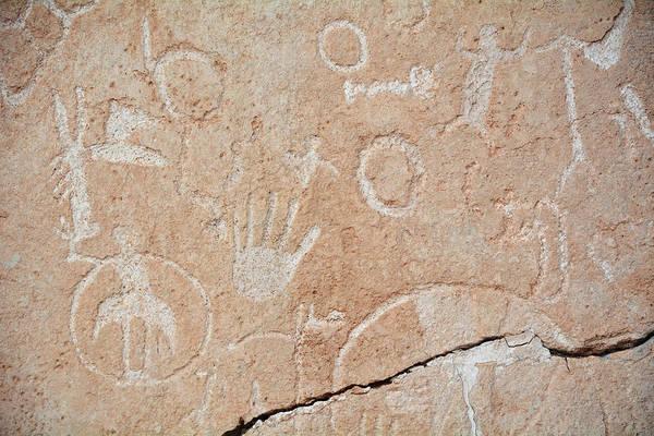 Photograph - Lost City Museum Petroglyphs by Kyle Hanson