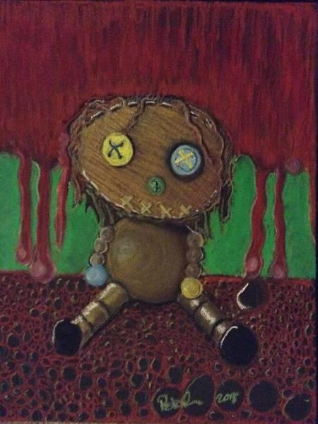 Oil Pastels Drawing - Lost Doll by Regina Jeffers