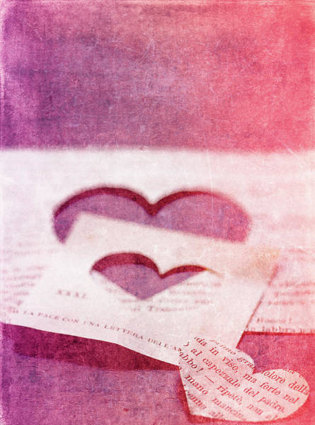 Heart Photograph - Lost Hearts by Rebecca Cozart