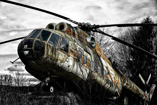 Tats Wall Art - Photograph - Lost Helicopter by Joachim G Pinkawa