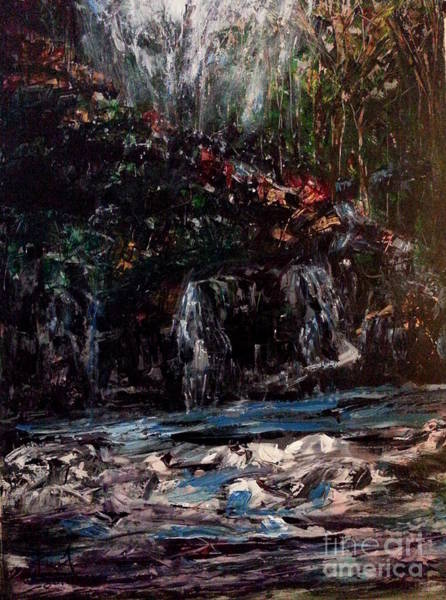 Painting - Lost In Antry by Reed Novotny