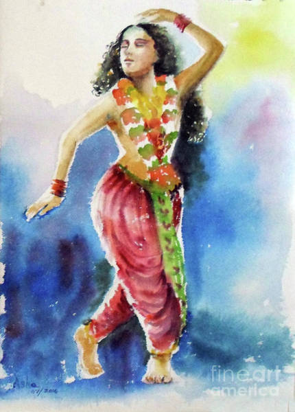 Painting - Lost In Dance by Asha Sudhaker Shenoy