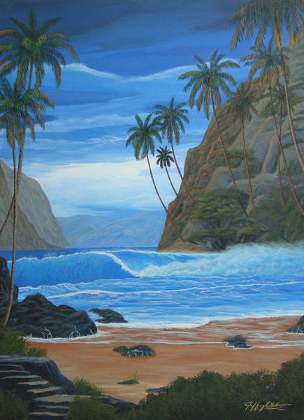 Lost In Paradise Art Print by Jeffrey Oldham