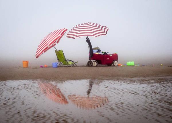 Photograph - Red Umbrellas by Robert Potts