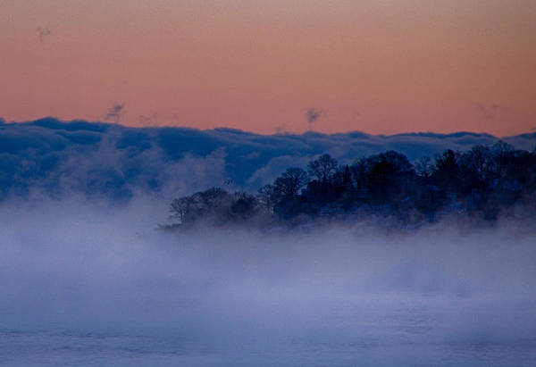 Photograph - Lost In The Sea Smoke by Jeff Folger