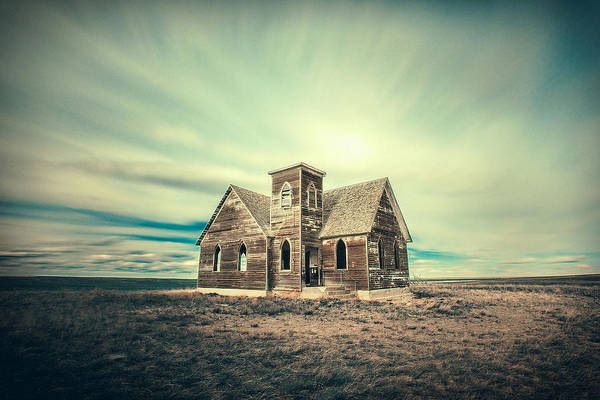 Wooden Church Wall Art - Photograph - Lost In Time by Todd Klassy