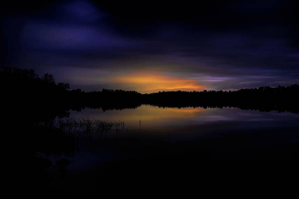Photograph - Lost Lake Evening Storm by Dale Kauzlaric