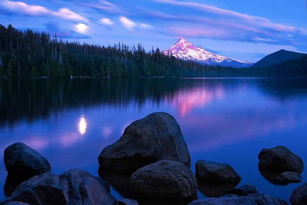 Wall Art - Photograph - Lost Lake Moonrise by Patrick Campbell