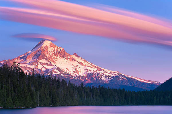 Wall Art - Photograph - Lost Lake Sunset by Patrick Campbell