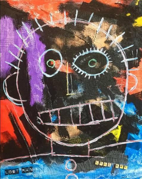 Brian Wilson Wall Art - Painting - Lost Man by Brian Wilson