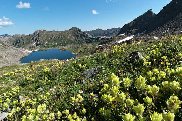 Photograph - Lost Man Lake Summer Landscape by Cascade Colors