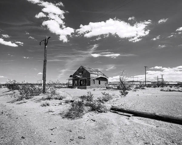 Photograph - Lost Memories Of Route 66 Bw by Denise Dube