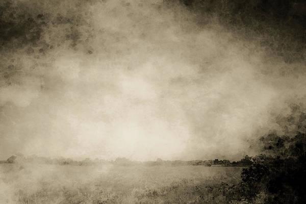 Photograph - Lost Monochrome Sand Prairie Landscape 3494 Bw_2 by Steven Ward