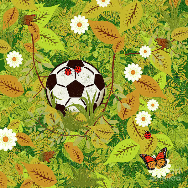 Wall Art - Digital Art - Lost My Ball by Gaspar Avila