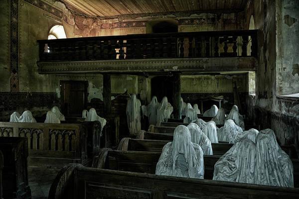Soul Photograph - Lost Souls In A Lost Churchhouse by Joachim G Pinkawa