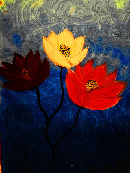 Blue Lotus Flower Paintings Page 12 Of 13 Fine Art America