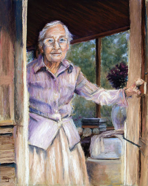 Pastel - Lottie The Faithful Servant by Susan Jenkins