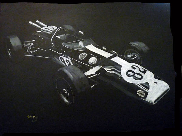 Painting - Lotus 38 No82 by Richard Le Page