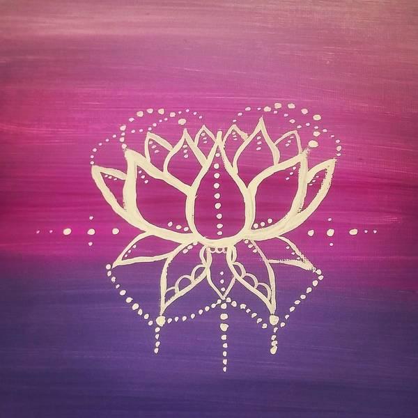 Wall Art - Painting - Lotus Celebration  by Vale Anoa'i