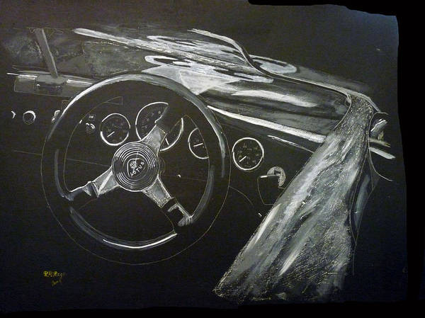 Painting - Lotus Eleven by Richard Le Page
