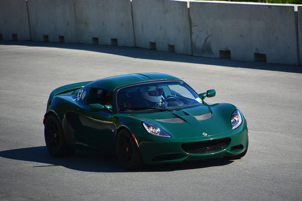 Whiskey Hill Wall Art - Photograph - Lotus Enters Track by Mike Martin