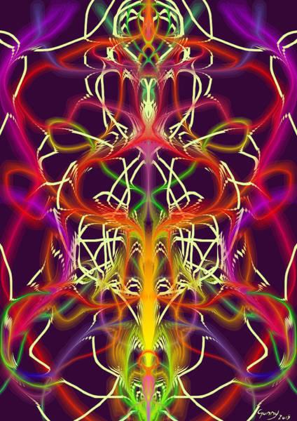 Sacred Heart Digital Art - Lotus II by Gunny Norddahl