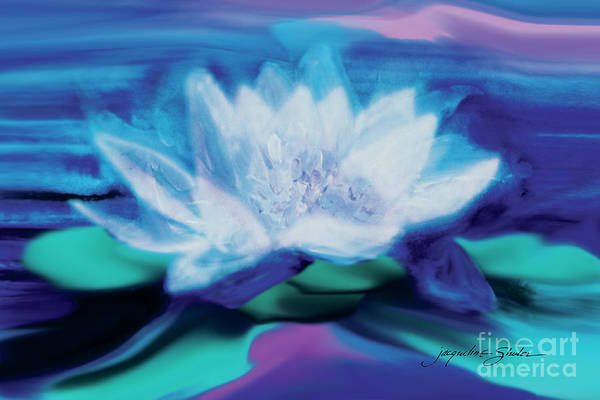 Painting - Lotus by Jacqueline Shuler