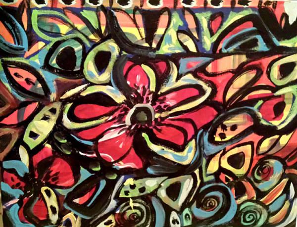 Painting - Lotus Petals by Nikki Dalton