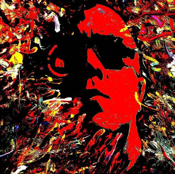 Painting - Lou Reed by Neal Barbosa