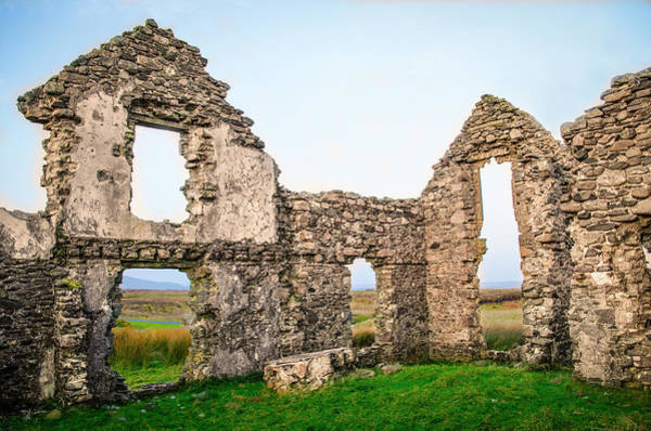 Photograph - Lough Easkie Hunting Lodge - Irish Ruins by Bill Cannon