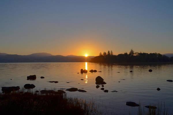Wall Art - Photograph - Lough Eske Donegal Ireland At Sunrise by Bill Cannon
