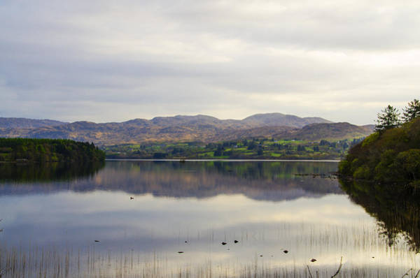 Wall Art - Photograph - Lough Eske In The Spring - Donegal Ireland by Bill Cannon