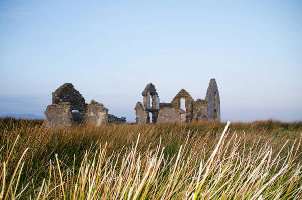Photograph - Lough Easkie Hunting Lodge Ruins by Bill Cannon