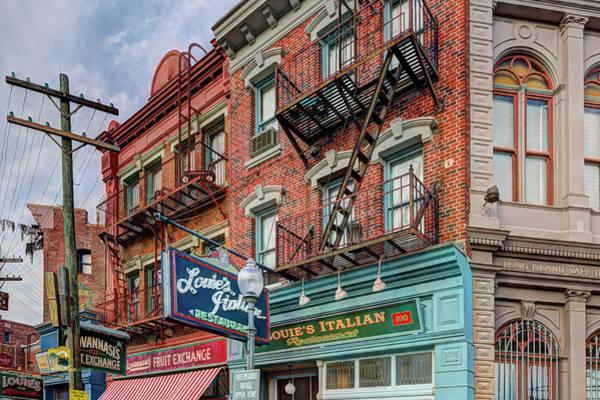 Photograph - Louie's Italian Restaurant by Jim Thompson