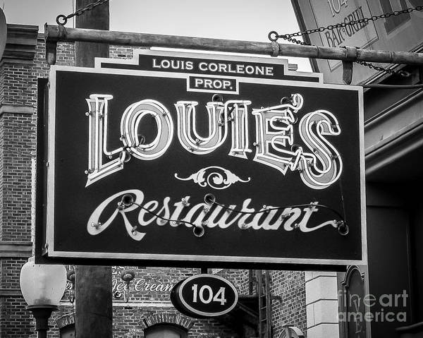 Wall Art - Photograph - Louie's by Perry Webster